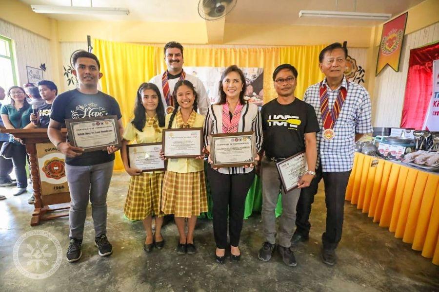 CSR Scholarship with OVP Angat Buhay for Students from Santa Maria, Romblon